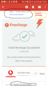 first recharge not successful and second successful same at time, after few minutes the first recharge done