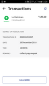 rs. 298/- debited from sbi a/c for recharge of jio mobile no, no recharge done