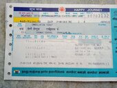 refund of balance amount towards cancellation of ticket.