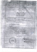 non updation of birth certificate details on website for print out