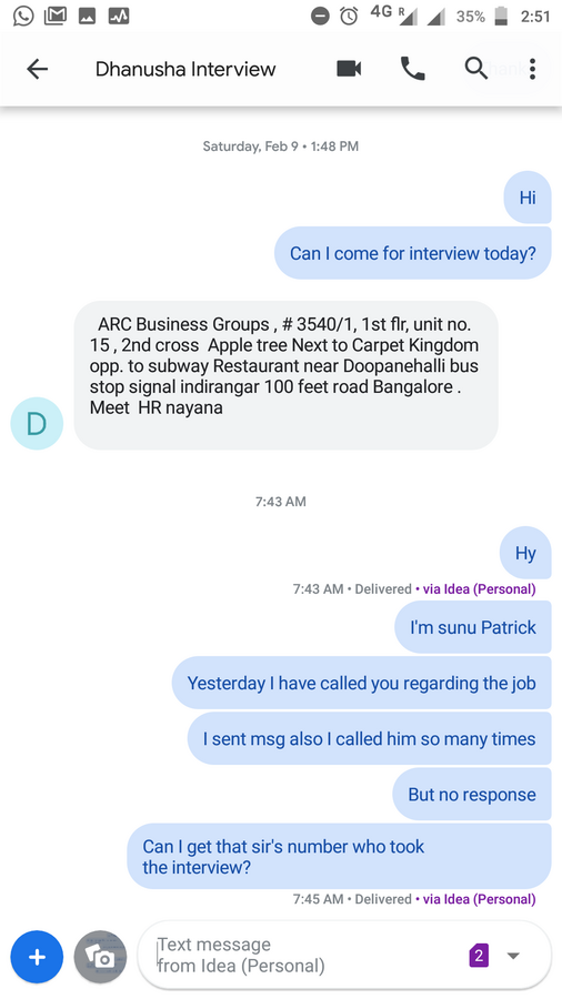 Arc Business Services — job regarding bpo voice and non voice process