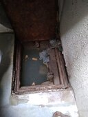 drainage block since last 1 week/complained 4 times at ward no 2