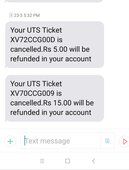 penalty collected for uts ticket