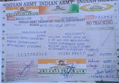 frauds using indian army name
