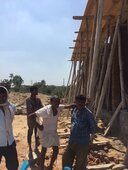 illegal construction at udai enclave