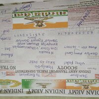 Indian Army — fraud of selling bike in the name of army and he made
