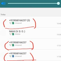 Vodafone India — fraudster call me many times yo theft my money
