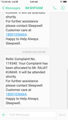 worst after sales services.. no reply even after a month