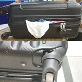 damaged luggage and bad behaviour of staff
