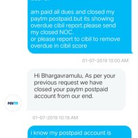 Paytm — paytm postpaid