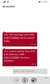 not returning a defective product
