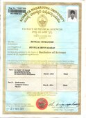 name correction in degree certificates y103071055