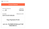 fortis healthcare - refund pending