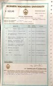 incorrect name printed on mark sheet and provisional certificate