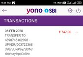 money deducted but cylinder not booked