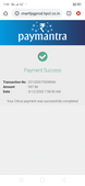 payment not received in merchant account
