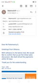booking advance repayment delay