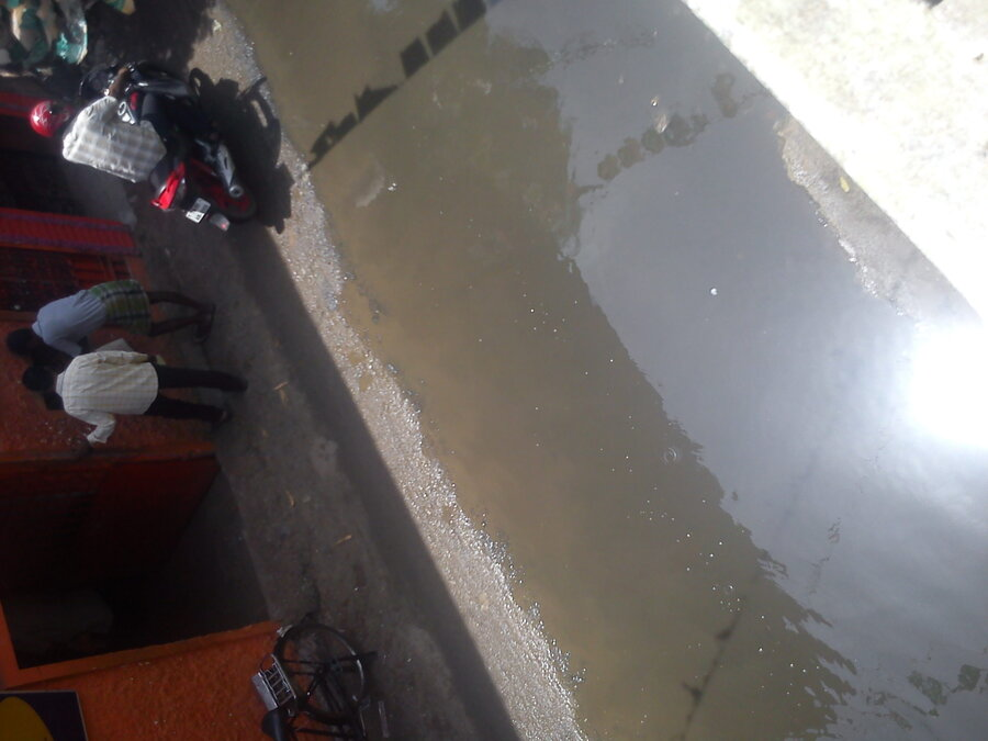 Chennai Corporation — drainage problem