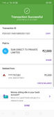 Recharge failed but amount got debited from bank account