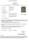 Fathers name is wrong in Learning Driving License