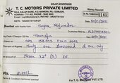 Tata Nexon - Refund request for Booking amount not being attended by Dealer TC Motors, Salap, WestBengal