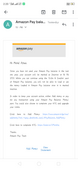 Closing of Amazon Pay Balance Account