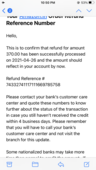 I have not received my payment to my Andhra Bank bank from Amazon