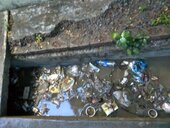 Drain before my home is full of Garbage (kuda-kachra), complained but there is no one to look after. Rainy Season has started