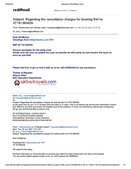 Regarding refund not given by akbar travels online flight booking id with akbar travels at191360429