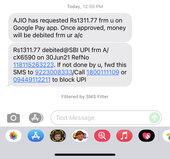 Amount debited order not confirmed