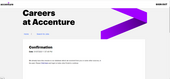 Not able to apply for any jobs on Accenture Portal