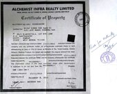 Alchemist Infra Realty Refund policy value