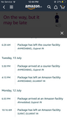 Delay in delivery from Amazon India
