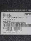 Acer EB192Q GST/3921 DATE 19-07-2021