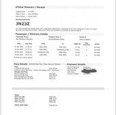 Refund of flight canceled