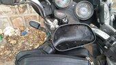 Bike mirror broken