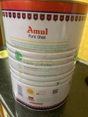 Adulterated Amul ghee