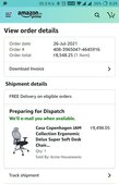 Ordered product