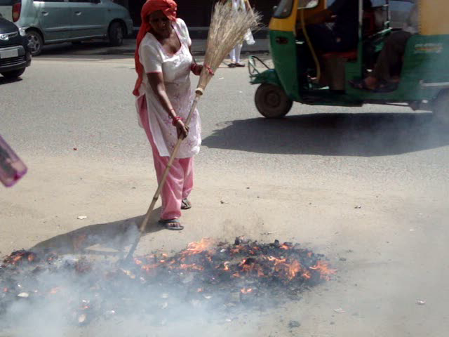 Municipal Corporation Of Delhi — complaint against sweepers