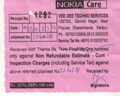 Complaint against nokia Care centre at Govind nagar, kanpur