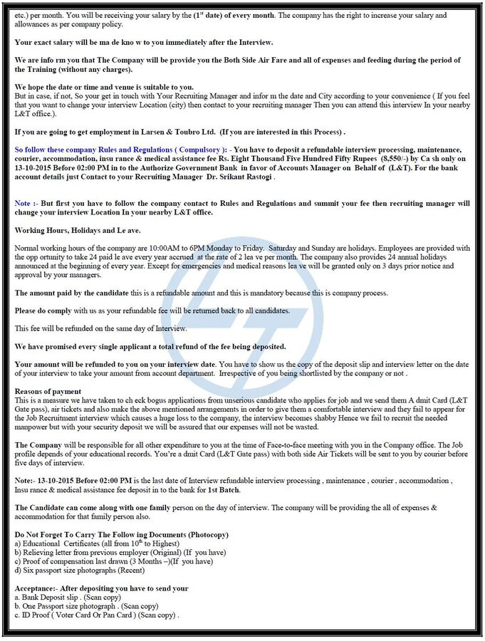 Lt fraud interview call letter page 2 thecheapjerseys Gallery