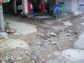 Sub:  Incomplete work and poor road in Pratap Nagar, Panjagutta Colony.