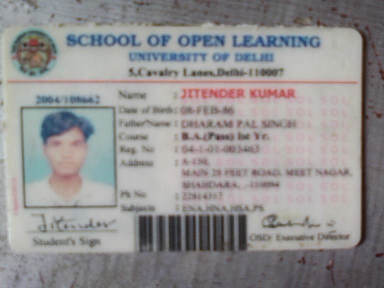 cacf452c5169f School Of Open Learning Delhi University — Degree doesn t issued to me
