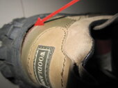 Inferior quality and defective shoes from Woodland