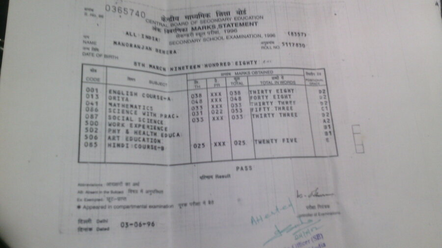 CBSE — Lost 12th certificate and marksheet, Page 13