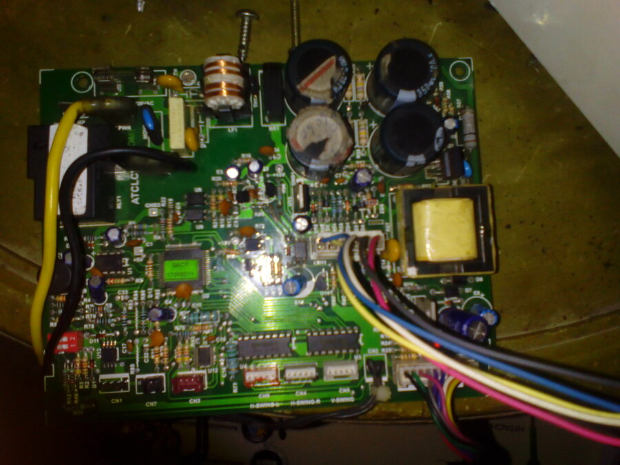 Hitachi 1  5 Ton Split AC — HITACHI FREQUENT PCB CARD FAULTY