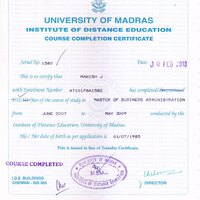 Madras university convocationprovisional and degree certificate madras university convocationprovisional and degree certificate not received yadclub Gallery