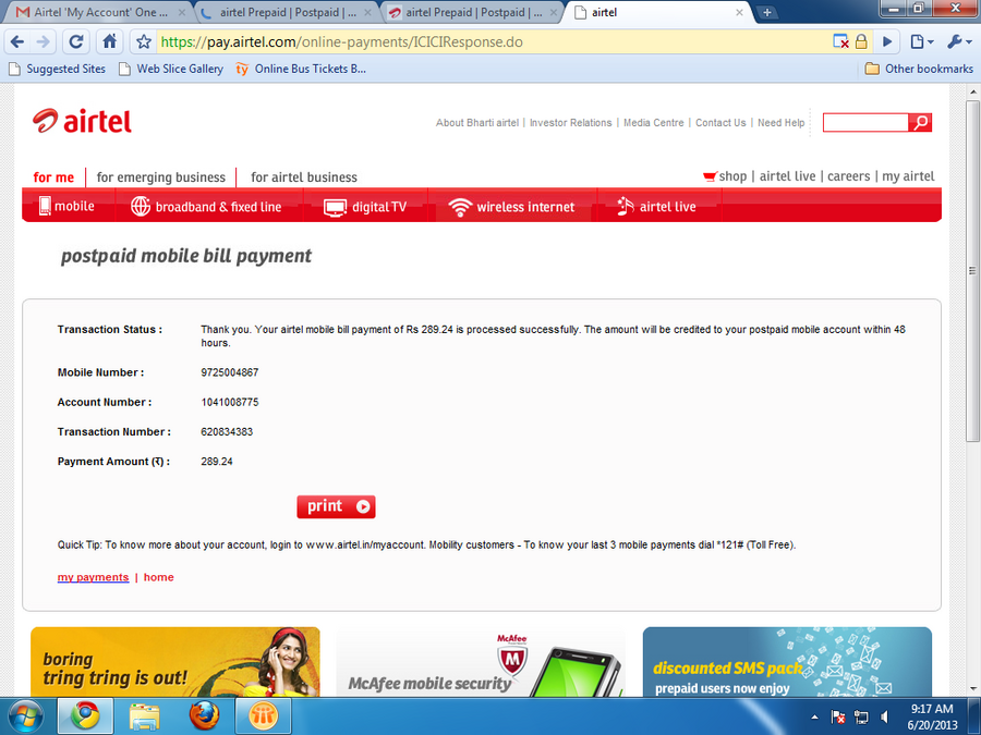 Airtel excess bill amount on postpaid connection excess bill amount on postpaid connection complaint comments spiritdancerdesigns Choice Image