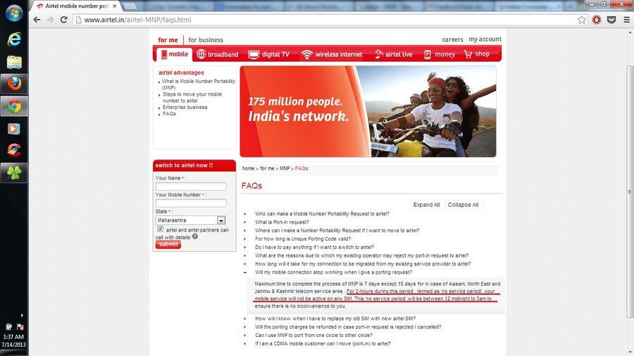 Resolved] Airtel / Prepaid — Airtel - MNP - Sim not
