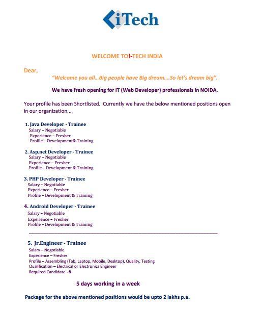 Radix Media Tech Pvt  Ltd — Fraud Company opened at Noida